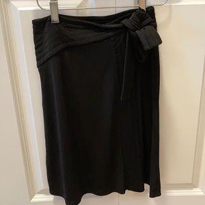 Aritiza Talula Babaton black wrap dress